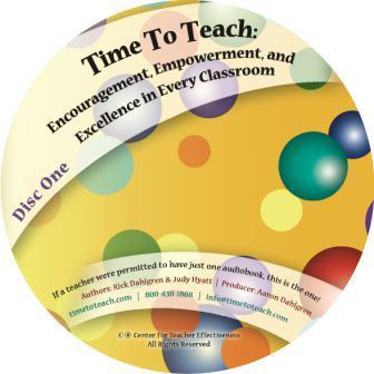 Encouragement, Empowerment, and Excellence in Every Classroom (Audio Book)