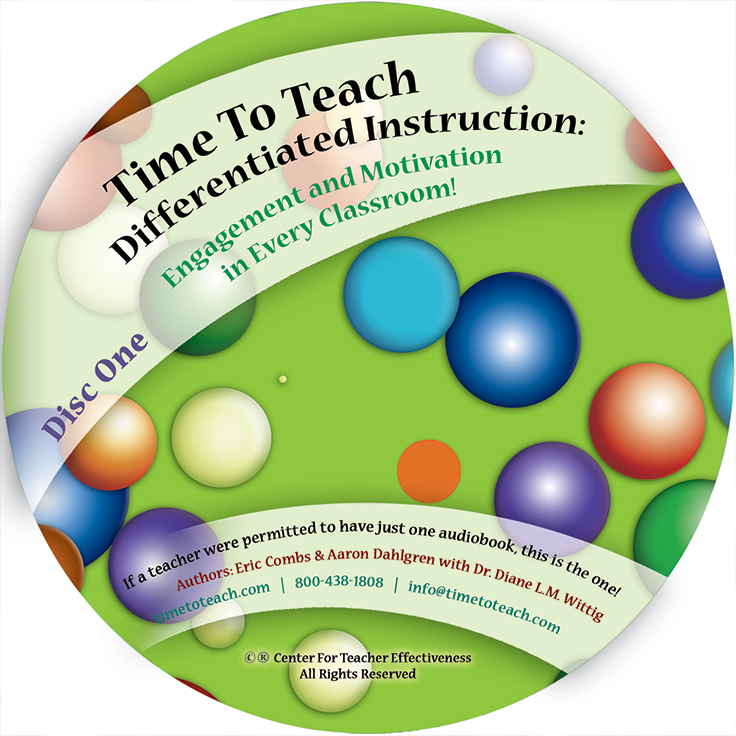 Differentiated Instruction, Engagement and Motivation in Every Classroom (Audio Book)